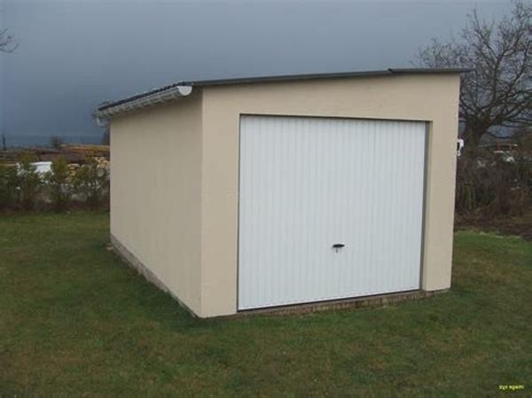 cout construction garage 30m2