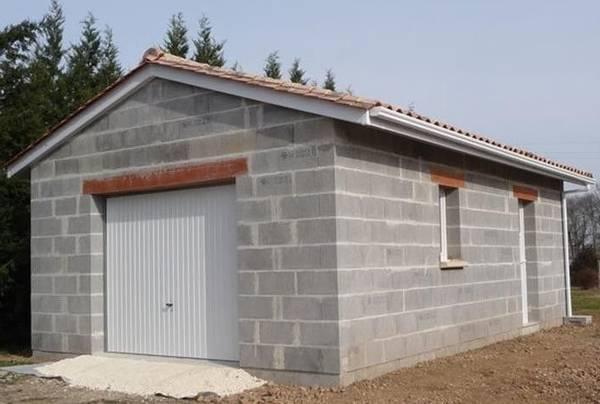 prix construction garage bois